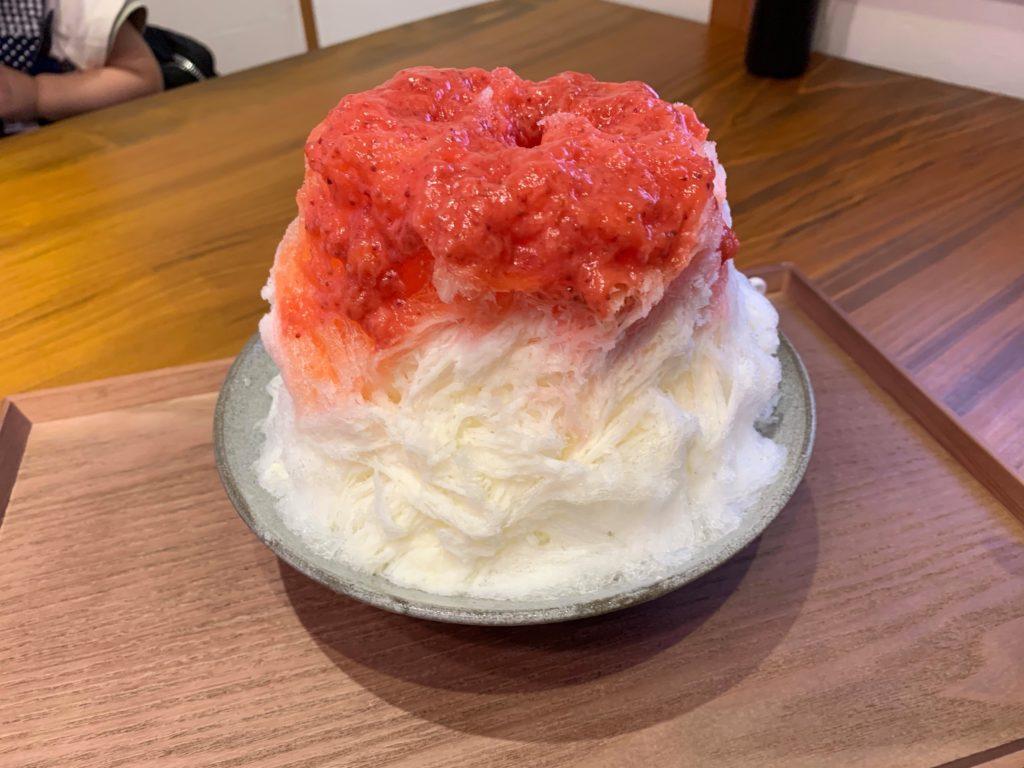 芋やすかき氷